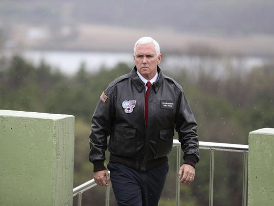 Image result for pence north korea