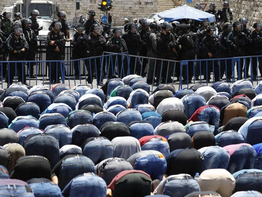 Jew Detector: Temple Mount Dispute: Non-violence Shows The Way For