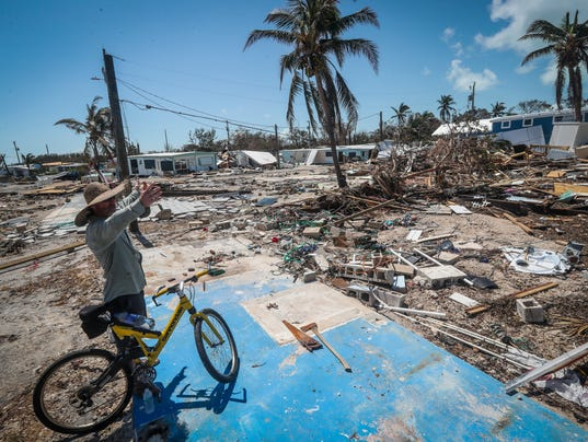 Florida Keys Mobile Homes Disappear After Hurricane Irma