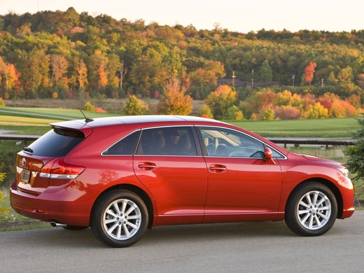 Toyota Venza has struggled to find an audience, and marketing missteps haven't helped the Camry-based crossover.