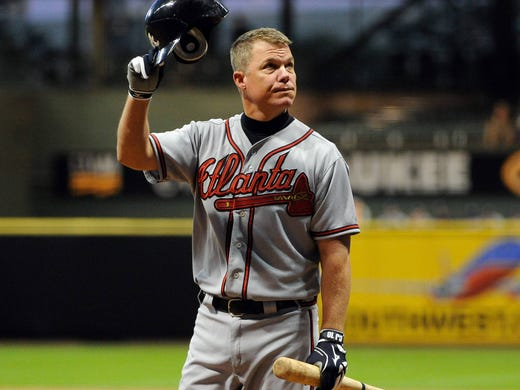 Atlanta Braves third baseman Chipper Jones announces that he will retire after the 2012 season. The future Hall of Famer has been well received at each on the road during his final farewell. A look back at his career.