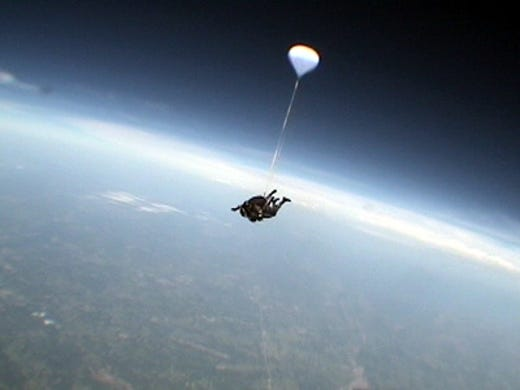 (25) Felix Baumgartner: He jumped out of a space capsule. Take that, Tebow.
