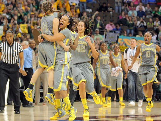 <b>No. 1 Baylor:</b> After rolling in 2011-12, dominant defending national champion is prohibitive favorite to make it two in a row with return of All-America C Brittney Griner, Fs Destiny Williams and Brooklyn Pope and All-America point guard Odyssey Sims. Bears play Kentucky, Stanford and Notre Dame by first week of December.
