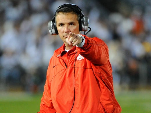 Ohio State's Urban Meyer:Ohio State agrees to fly coach by private aircraft when he is making recruiting visits and for the mutually agreed-upon school business. When such trips are more than 200 miles from Columbus, school agrees to fly coach by private jet aircraft. Coach's use of aircraft for recruiting and business shall not exceed 50 hours per year, in-air and dead time inclusive. Meyer can also use such jet aircraft for his personal use for 35 hours, in-air and dead time inclusive each year.