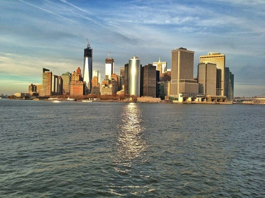 Though the Statue of Liberty and Ellis Island remain off-limits to visitors, sightseeing cruises have returned to New York Harbor.