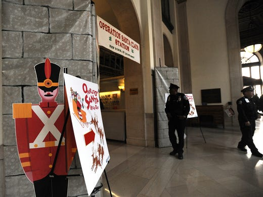 Operation Santa, the U.S. Postal Service's letters to Santa program, kicks off its 100th year with fanfare at New York City's Farley Post Office Dec. 4. What is it you want for Christmas? Tweet your holiday wishes @LetterstoSanta.