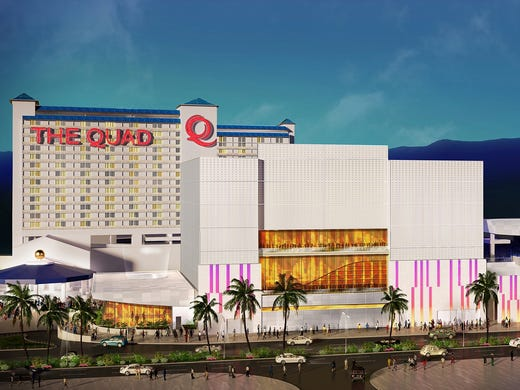 The Strip is in the process of getting a renovated, hipper resort. The Imperial Palace has just morphed into 'The Quad Resort & Casino,' aimed at a younger, hipper crowd.