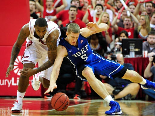 No. 21 North Carolina State 84, No. 1 Duke 76