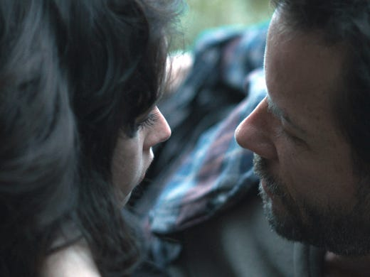 Sexual themes ranging from kinky to creepy spice up the slate at the annual Sundance Film Festival. More than a dozen movies take on intimate human interaction.  In 'Breathe In,' Felicity Jones plays a student staying with a family who embarks on an affair with the household's father (Guy Pearce).