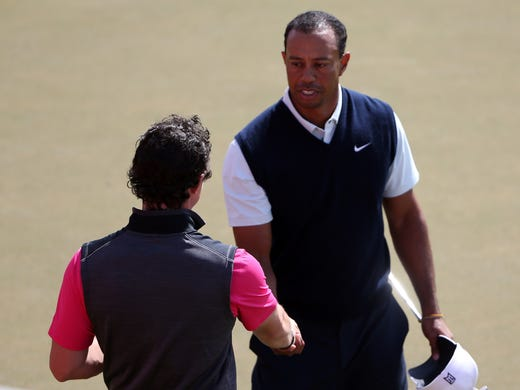 Well, the opening round of the season was less than spectacular for both Rory McIlroy of Northern Ireland and Tiger Woods of the USA at the Abu Dhabi HSBC Golf Championship on Thursday. Woods finished with an up-and-down even-par 72, and McIlroy (and his new Nike clubs) shot a 3-over 75.