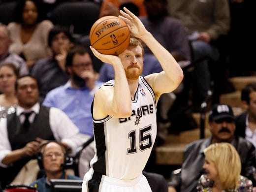 Matt Bonner, San Antonio Spurs: Shooting 42.6% from three-point range this season. Led the league in three-point percentage in 2010-11. Career 41.6% shooter from beyond the arc.