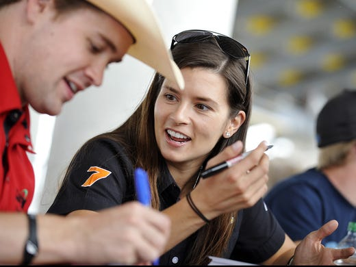 "Danica Patrick and Ricky Stenhouse Jr. came onto the Nationwide Series circuit together, in 2010.""We got along from the very beginning,""Patrick says of Stenhouse."
