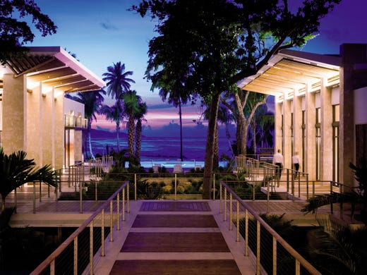 The new $350 million Dorado Beach, A Ritz-Carlton Reserve opened in  December, replacing the iconic Dorado Beach Hotel, which closed in 2005.  It's the second of the Ritz-Carlton's Reserve brand, which targets the  ultra rich.