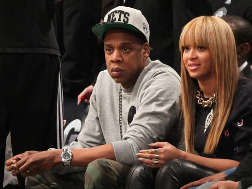 #18) Jay-Z and Beyonce: We know neither of them are athletes, but he owns a sliver of the Nets and she stole the show at last year's Super Bowl and they're a heck of a lot more interesting than No. 17.