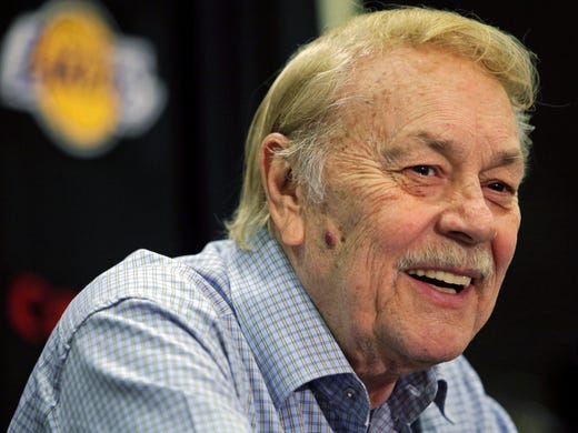 Jerry Buss presided over 10 Lakers championships as team owner since 1979 before dying Monday. He was beloved in Los Angeles, an icon in the NBA. Here we look at other iconic owners in sports.