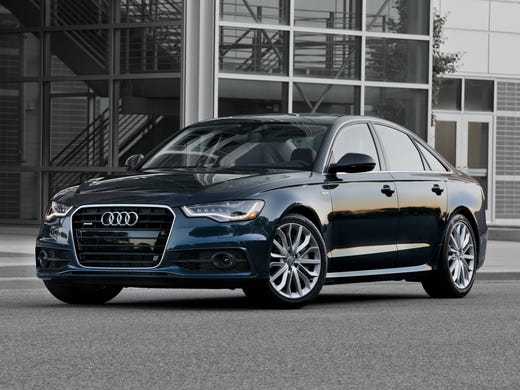 The 2013 Audi A6 was Consumer Reports' Top Pick for Luxury Sedan.