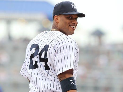 1. Robinson Cano, Yankees: .313, 33 HR, 94 RBI, 105 R, 3 SB, 627 AB