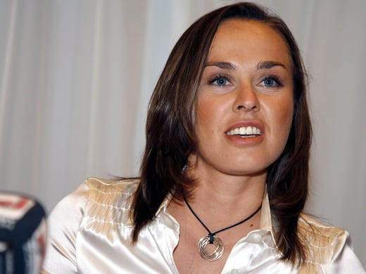 Martina Hingis has been elected to the International Tennis Hall of Fame. The announcement was made March 4 in New York. The former No. 1 from Switzerland is a five-time Grand Slam champion, and she won 43 WTA titles. She became the undisputed No. 1 at age 16 in 1997, a year she won three Grand Slam singles titles. She retired at age 22 because foot injuries and then returned in 2006 and climbed as high as No. 6 in the world. She retired again in 2007.