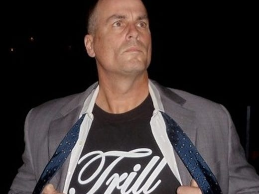 "ESPN's Jay Bilas is one of the country's best college basketball analysts. The former Duke player's book, ""Toughness,"" hit bookshelves March 5. He's also an attorney in his spare time. His latest talent might be his best, though. Enter photo-bombing, Bilas' latest hobby that has helped him become an Internet superstar."