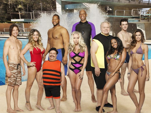 For the new ABC reality show 'Splash,' premiering March 19 at 8 ET/PT, 10 celebrities will train and compete in regulation platform and springboard diving. Comedian and contender Louie Anderson handicaps the group for us.