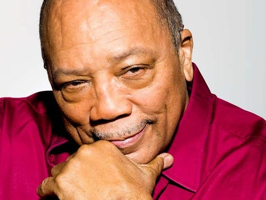 Quincy Jones -- composer, producer, humanitarian -- turns 80 on March 14. He'll be inducted into the Rock and Roll Hall of Fame on April 18, just one of the many honors over his long life and career.