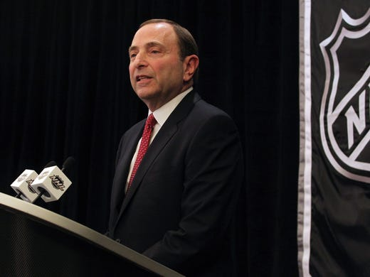 NHL Commissioner Gary Bettman has the approval of the union and the board of governors for a 2013-14 realignment that was necessitated by the 2011 move of the Atlanta Thrashers to Winnipeg.The new lineup and pluses and minuses:
