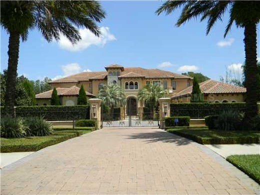 Warren Sapp's Windermere, FL mansion is back on the market at a steep discount: $2.9 million.