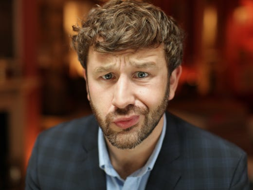 """While he was promoting his breakout role in the hit comedy 'Bridesmaids' in 2011, Chris O'Dowd ran into a problem when he tried to watch himself on a TV talk show. """"I realized my cable had gotten turned off,"""" he says. """"Actually, I turned it off. I had to stop it. I couldn't afford it."""" These days, the cable is back on, and O'Dowd is busier than ever, what with a new film, 'The Sapphires,' an upcoming HBO series and even a summer animated feature. USA TODAY's Susan Wloszczyna looks back at how this Irish funnyman rose to the top of Hollywood's most-wanted list."""