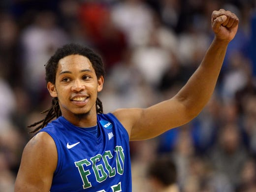 South Regional (Philadelphia): Sherwood Brown and No. 15 seed Florida Gulf Coast pulled off the upset of the tournament, topping No. 2 seed Georgetown 78-68. Brown had a game-high 24 points.
