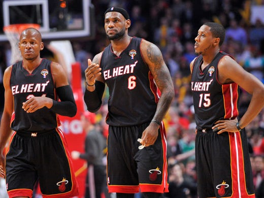 It ended in Chicago. LeBron James (center) and the Miami Heat won 27 consecutive games before losing 101-97 Wednesday against the Chicago Bulls. That doesn't make the streak any less impressive, though. Flip through this gallery to remember each game.