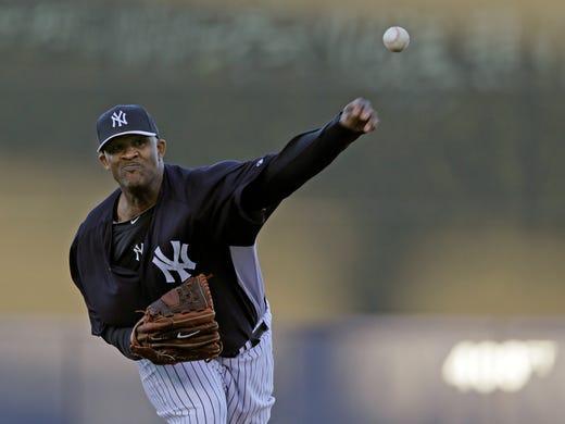 MONDAY: CC Sabathia, New York Yankees (vs. Boston).  2012: 15-6, 3.38 ERA.