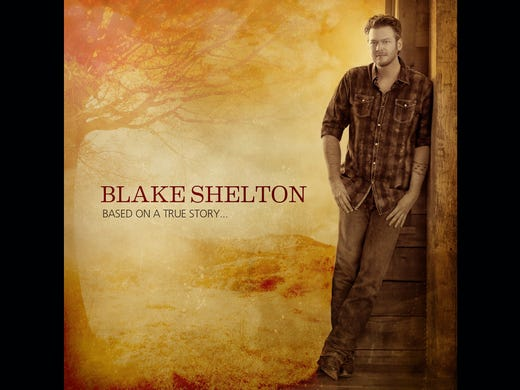 New releases have country music fans whistling a happy tune. Blake Shelton released 'Based on a True Story ...' on March 26.