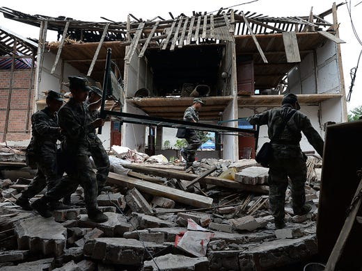 earthquake kills 22 in southwestern china essay In southwest china's sichuan province, the recovery operation is underway after the area was hit by a 70 magnitude earthquake it was close to the jiuzhaigou nature reserve, a popular tourist.