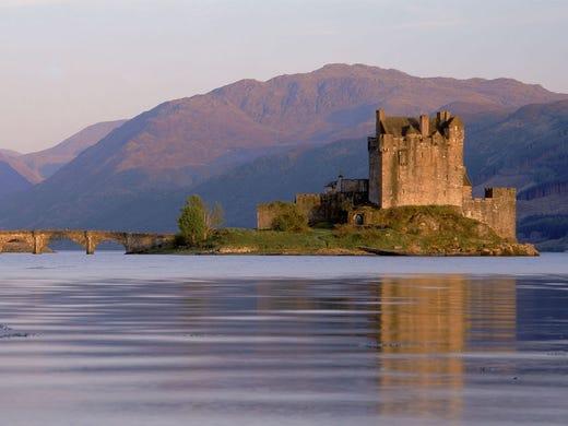 Eilean Donan Castle, Dornie.