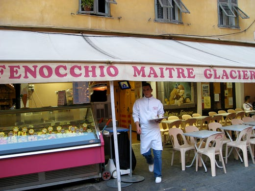 Nice, France: If you want wild flavors, you'll find them at Fenocchio, a family-owned parlor scooping up scrumptiousness since 1966. While the scoops are on the pricey side, loyal customers will tell you the cones are worth it. Salted caramel and pistachio ice cream are favorites, though if you're looking for something adventurous, go for the cactus or tomato-basil sorbets.