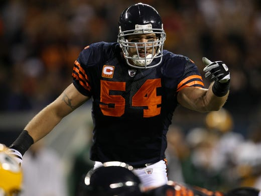 After 13 NFL seasons, all with the Chicago Bears, Brian Urlacher decided to call it a career May 22, 2013.