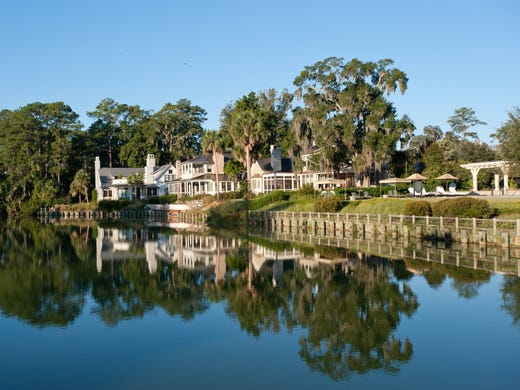 "Romance is alive and well below the Mason-Dixon line, where Southern charm is sure to pull the heartstrings of a visiting couple. From gorgeous antebellum mansions to intimate city boutiques, choosing the most romantic spots is quite a difficult task, but we think we're up to the challenge. Here are some of our favorite hotels in the South. The Inn at Palmetto Bluff, Bluffton, S.C.: This ""inn"" in Carolina Lowcountry, really more akin to a sprawling estate, provides a one-of-a-kind experience that uniquely blends southern history and almost otherworldly natural beauty: rivers, misty marshes, old oaks draped with wispy Spanish moss, and salty breezes. The main hotel building looks like a classic southern mansion, and the 50 Cottages and Cottage Suites are simultaneously homey and utterly luxurious, with working fireplaces, screen porches and gorgeous bathrooms. Guests can enjoy a range of recreational facilities, including golf, bicycling, tennis, croquet, kayaking and swimming, and the luxury spa is highly acclaimed. It's not an overstatement to say that the Inn at Palmetto Bluff is one of the most special properties in the entire country."