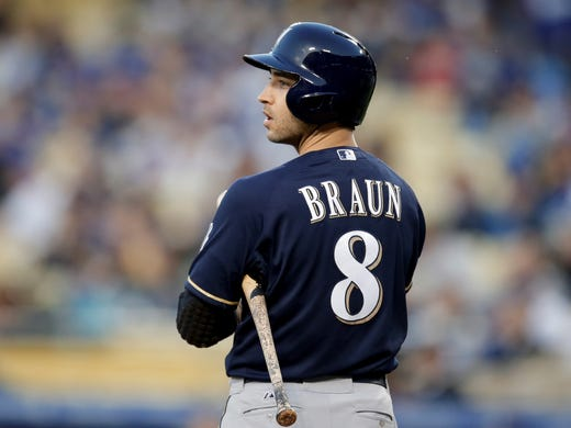 Brewers' Ryan Braun tested positive for an illegal synthetic testosterone during the 2011 postseason. He served a season-ending 65-game suspension for his ties to the clinic.
