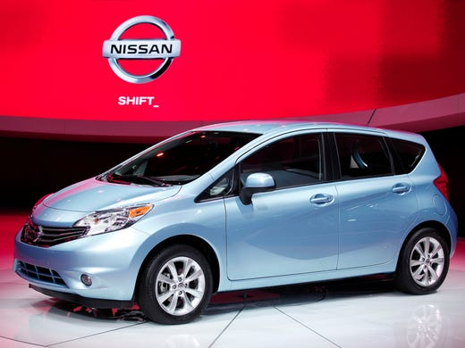 The Nissan Versa Note, the hatchback version of the nation's Versa, is the latest to join the list of the nation's cheapest cars. Here are the others: