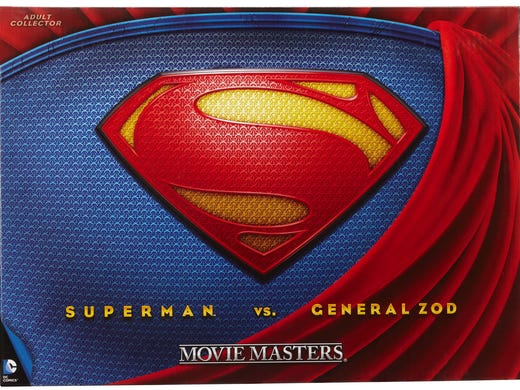 Every year, Mattel has one of the largest toy presences at Comic-Con, and they're again bringing a host of cool exclusives, including a special 'Man of Steel' box set ($50).