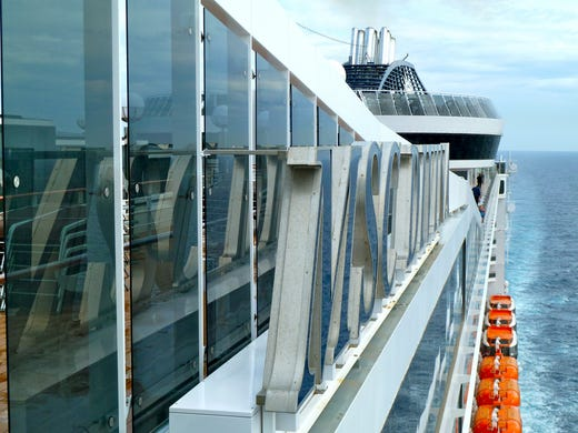 MSC Cruises 139,500 gross-ton MSC Divina will be the European line's first year-round U.S.-based cruise ship, beginning with cruises from Florida to the Caribbean this November.