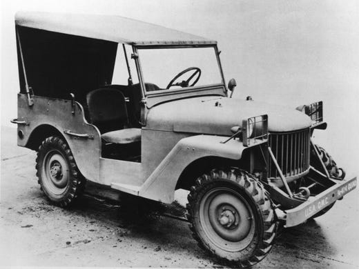 The 1940 Willys Quad is an early example of the  jeep, the vehicle that won World War II