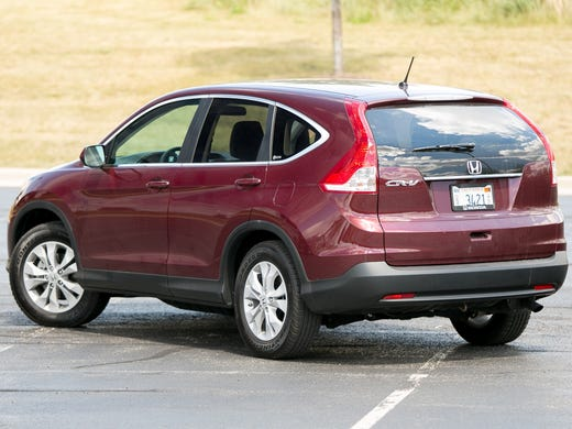 In 10th place last month, the Honda CR-V drew sales from families looking for a practical, small hauler