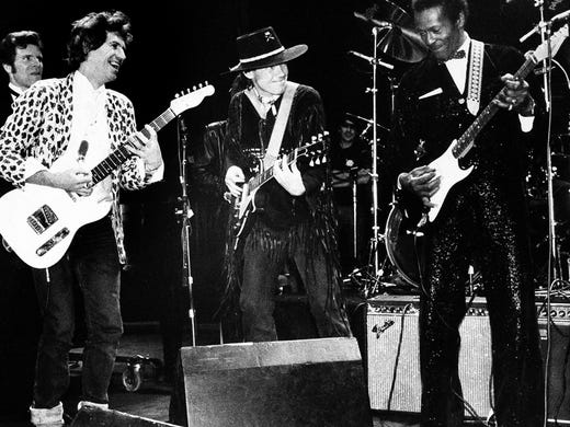 Famous Fans Tweet Love For Late Chuck Berry