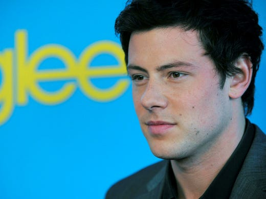 Cory Monteith stole hearts around the world playing 'Glee' lead hunk Finn Hudson. We remember the star through the years, beginning with a shot of Monteith just eight months after the show's wildly successful launch. Here, he arrives at the 'Glee' spring premiere on April 12, 2010.