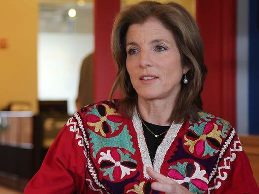 Caroline Kennedy, 55, speaks during an interview March 26 in New York. President Obama will nominate her to be the next U.S. ambassador to Japan. She will need Senate confirmation.
