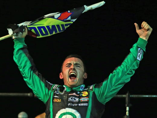 NASCAR returned to dirt track racing for the time in 43 years when the Trucks Series invaded Eldora Speedway in Rossburg, Ohio, for the inaugural Mudsummer Classic. Austin Dillon took the checkered flag.