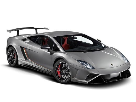 The Lamborghini Gallardo LP 570-4 Squadra Corse was just introduced an an attempt to bring a race car to the street
