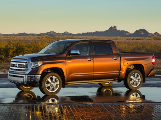 The 2014 Toyota Tundra features an overhauled exterior, interior and an array of unseen features to make it more appealing. This one is the Toyota Tundra 1794 Edition.