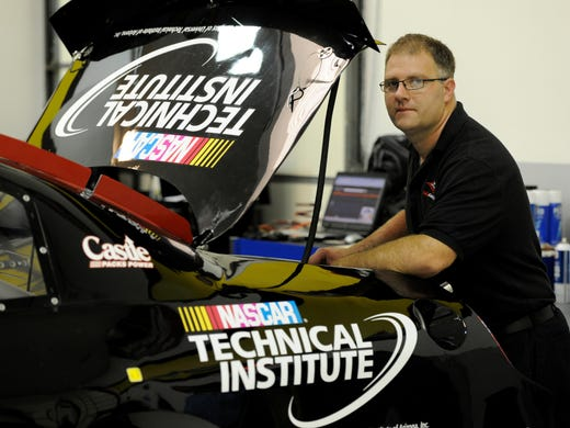 NASCAR Tech graduate Jonathan Sickler helped Rev Racing capture the 2012 K&N Pro Series East crown.